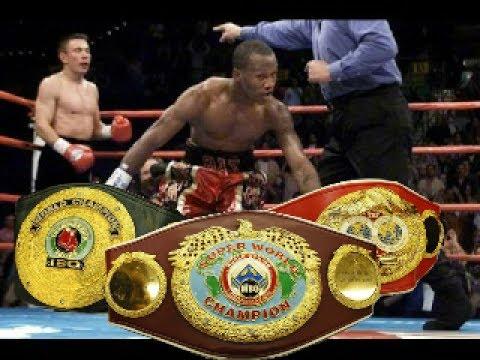 Костя Цзю нокаутирует Заб Джуду.. Титул Абсолютного чемпиона мира по боксу 2001г