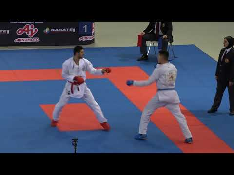 Premier League 2019 Madrid Male-84 Abdullayev Panah (AZE) Vs Zhumaliev Erbol (KGZ)