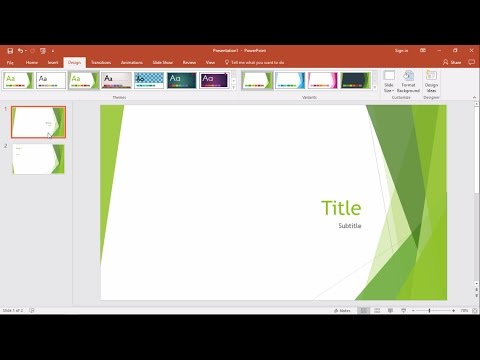 PowerPoint 2016: How To Save Slides As A PDF File