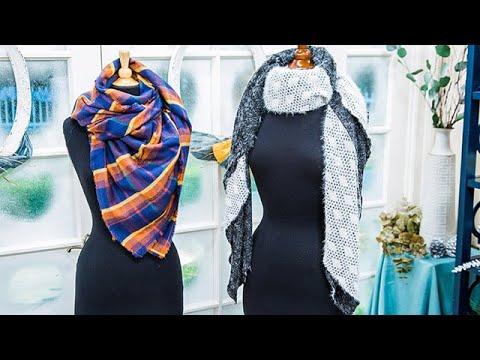Diy Blanket Scarves Home Family