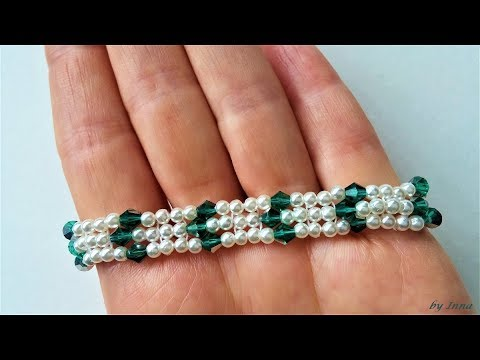 Beaded Bracelet How To Make A Bracelet Easy Pattern