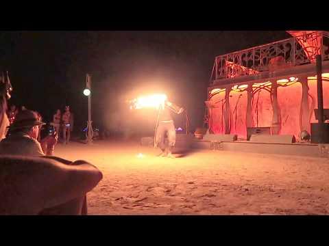 Dresden - Fire Rope Dart - La Victrola, Burning Man 2017