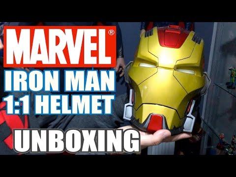 ¡Muy bestia! IRON MAN MARK XVII 1:1 Helmet de IMAGINARIUM ART