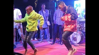 Destiny Boy Calls 7yr Old Surelere Best Dancer To Challenge Him On Stage,Dance Wit Pasuma