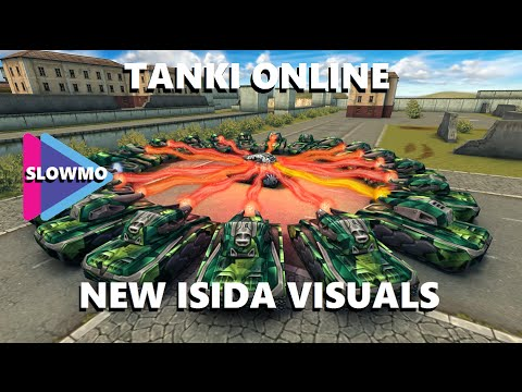 Tanki Online - New visual effects for Isida