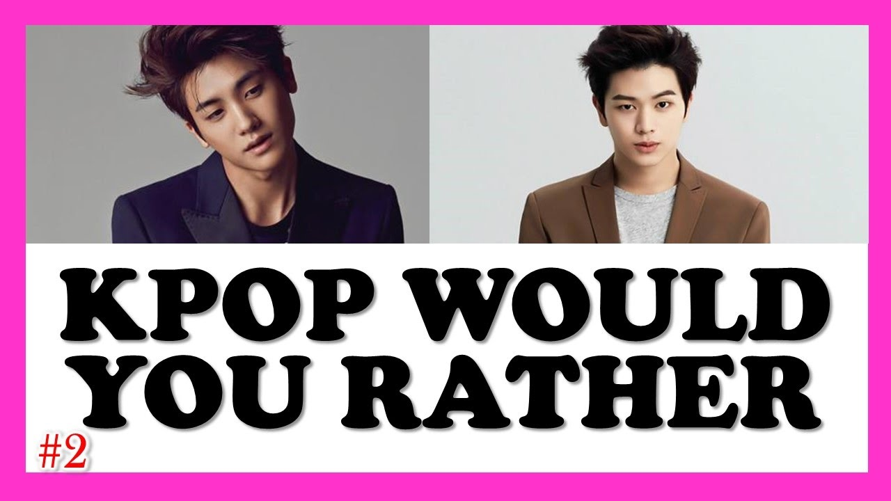 kpop would you rather game  2