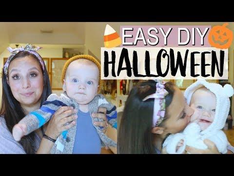 LAZY MOM'S DIY EASY BABY HALLOWEEN COSTUMES