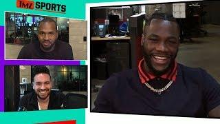 Deontay Wilder Says Anthony Joshua Negotiations 'Definitely' Underway thumbnail