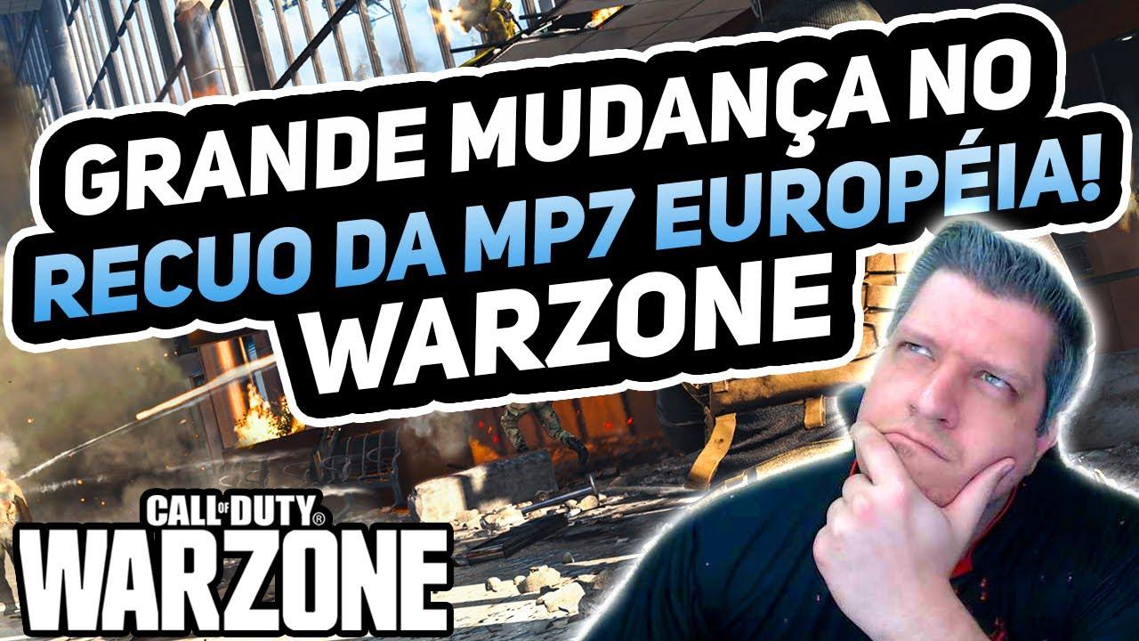 RECUO DA MP7 MUDOU MUITO! | COD WARZONE DICAS