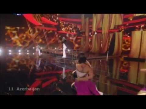 Aysel & Arash - Always ( Eurovision 2009 - Azerbaijan) Broadcasting by ERT