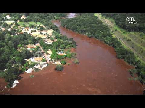 Imagens aéreas revelam drama de moradores de Brumadinho