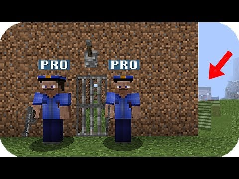 EL PRESO INVISIBLE POLICIA VS LADRON MINECRAFT TROLL