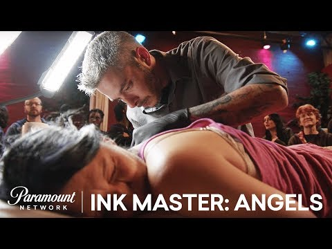 Healed by an Angel: Angels Tattoo Face Off | Ink Master: Angels (Season 2)