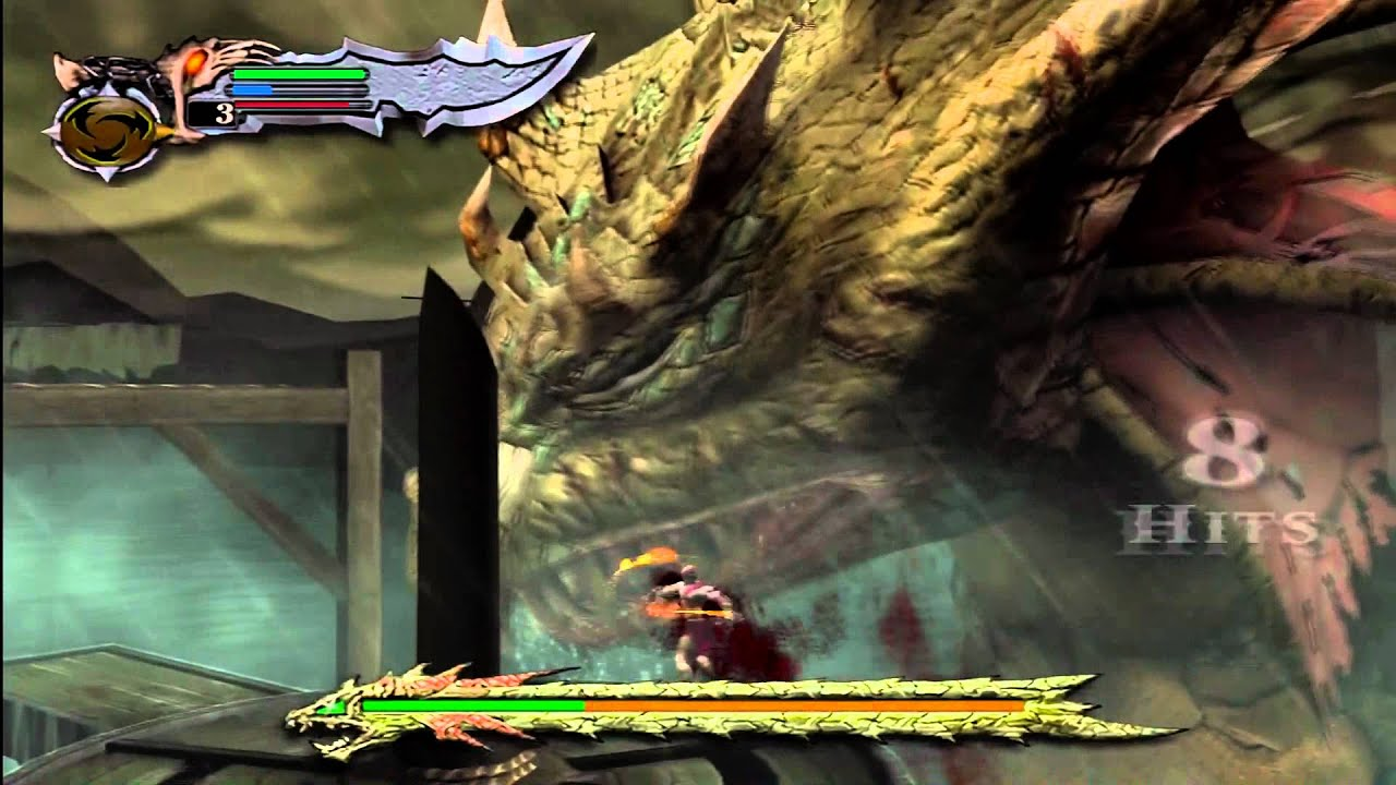 God Of War D Ps3 God Of War God Mode Part 02 Kratos Vs Hydra