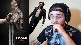Logan Official Trailer 1 (2017) - Hugh Jackman Movie (REACTION)