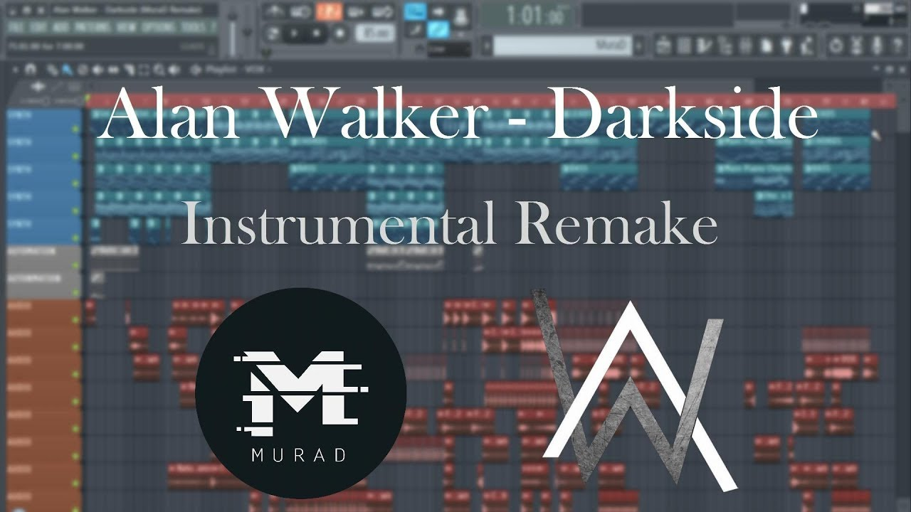 Alan Walker - Darkside (FL Studio 12 Instrumental/Full Remake) +FREE FLP [Reupload]