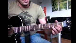 Leichte Lieder für Gitarre lernen / Adele - someone like you