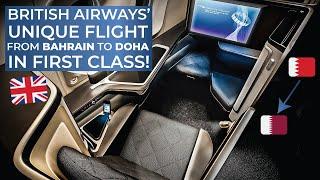 TRIPREPORT | British Airways (FIRST CLASS) | Bahrain - Doha | Boeing 777-200