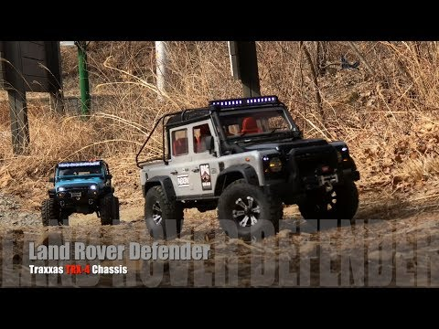 Traxxas TRX-4 Defender D110 Pickup & Rubicon JK | Offroad Trail