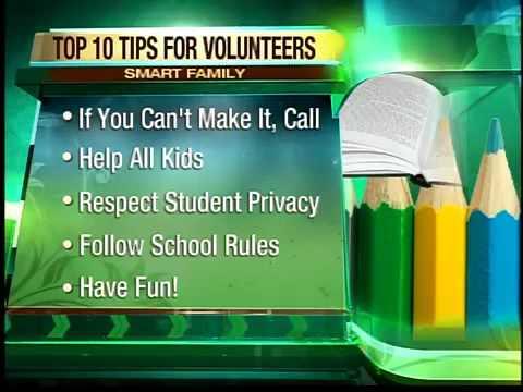 Be a parent volunteer in school