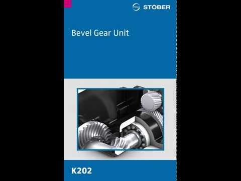 STOBER's Helical Bevel K Unit