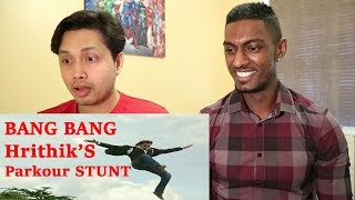 Bang Bang  Parkour Stunt Scene Reaction | Hrithik Roshan | Stageflix
