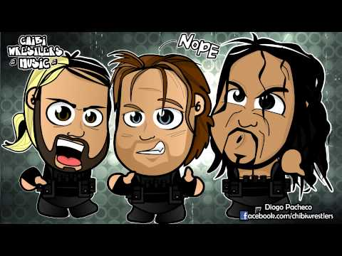 Chibi Wrestlers Music - The Shield Theme Chibified (WWE Parody)