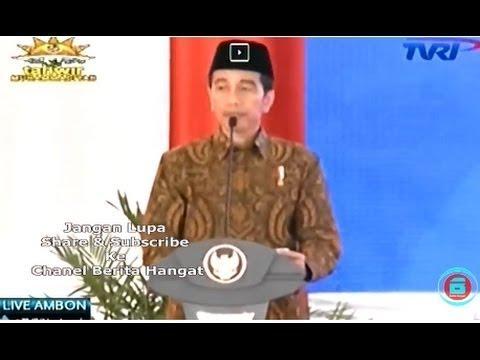 ASTAGHFIRULLOH  !!! Jokowi Salah Ucap Lahaula Jadi La Kalaw Kalaw Kata Ila Billah
