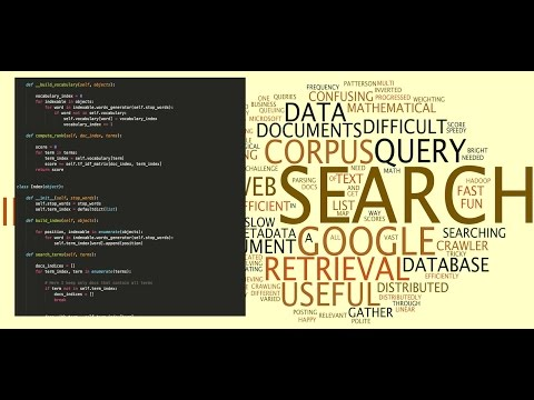 TF IDF Rank Based Search Engine | Question Answer System | Code in Python