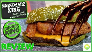 Burger King® | Nightmare King™ | Taste Test & Review! 😱👑