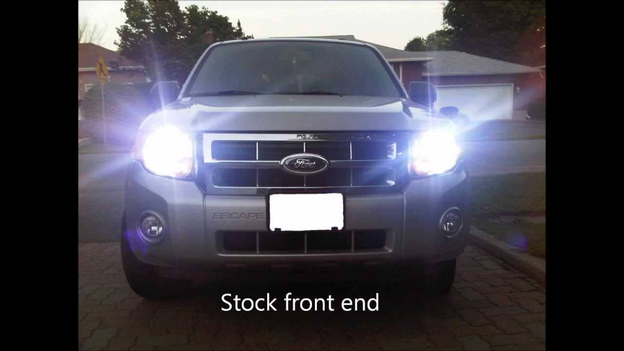 2008 Ford Escape Transformation Youtube