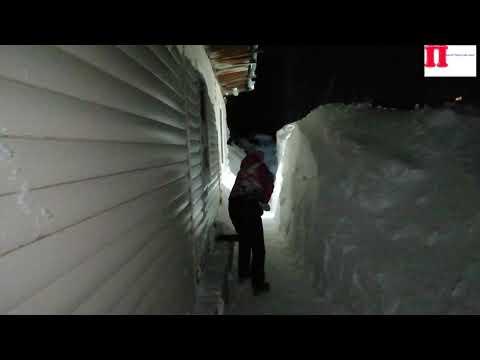 Влог: убираю снег/Алтайский край
