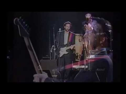 Eric Clapton  & his band -
