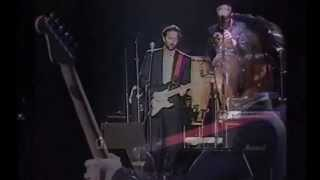 "Eric Clapton  & his band - "" A Remark You Made (1988)"