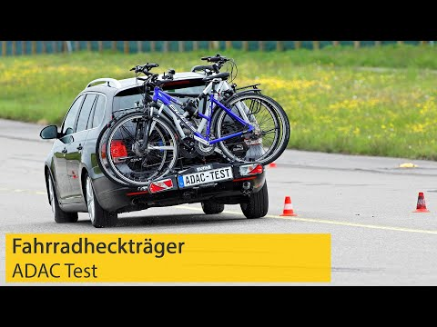 Fahrradheckträger im Test | ADAC