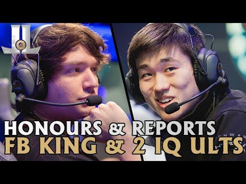 Meteos Leads 100T to 1st, Pobelter Has a 20 IQ Ult: Week 9 Honours and Reports| Lolesports