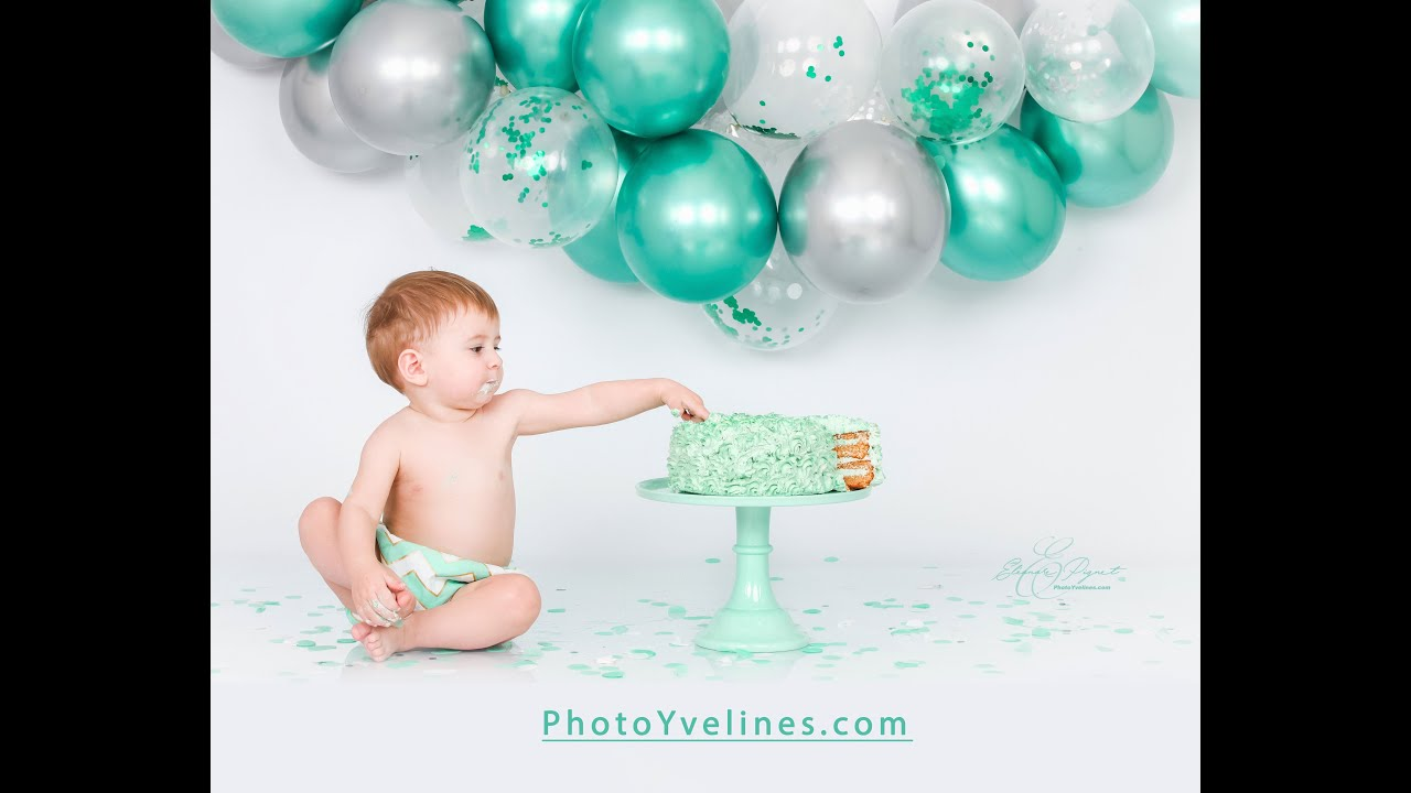 "Shooting Anniversaire Bébé ""Smash The Cake"" Studio PhotoYvelines / Eléonore Pignet Photographe"