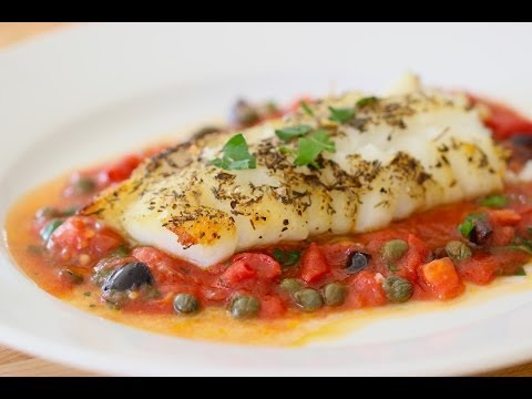 Easy Cod Provencal (REAL-TIME RECIPE!)