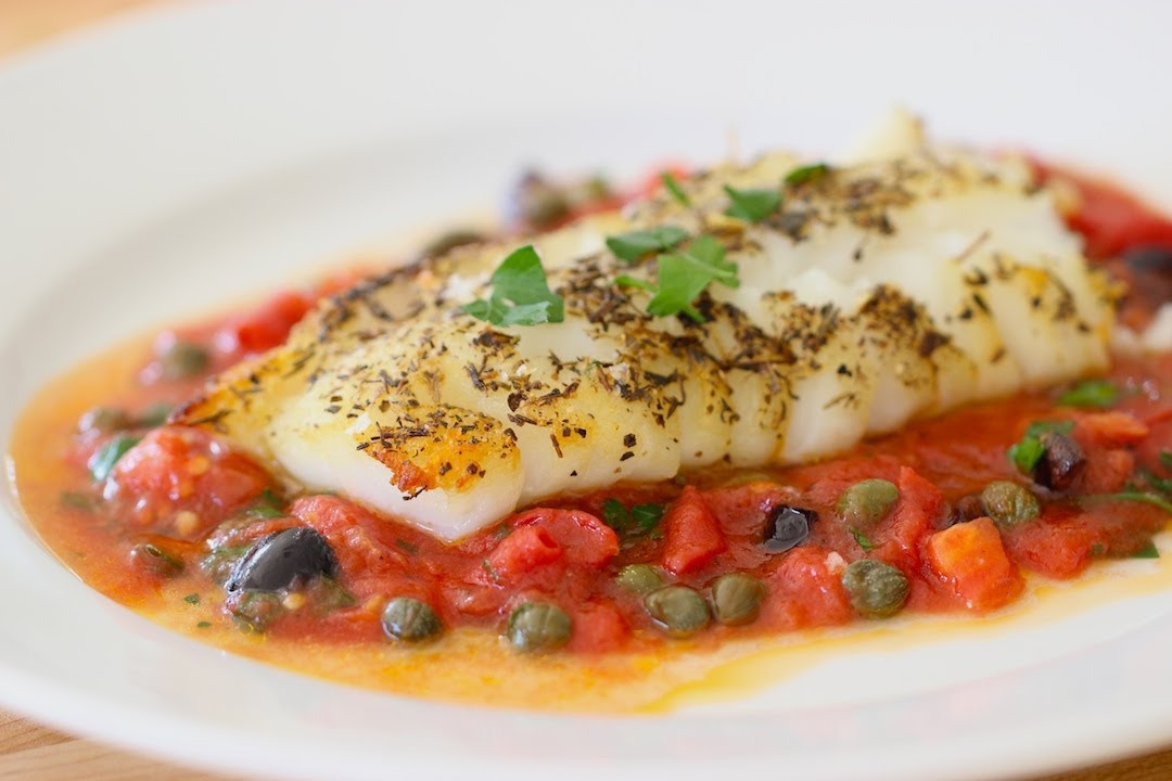 Easy Cod Provencal | ENTERTAINING WITH BETH - YouTube