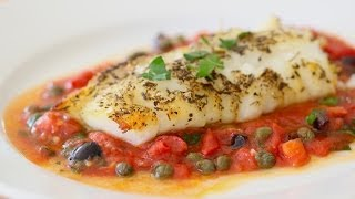 Baked Cod Fish in Oven