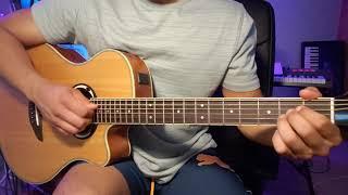 Ed Sheeran - Best part of me ft. YEBBA (guitar tutorial)