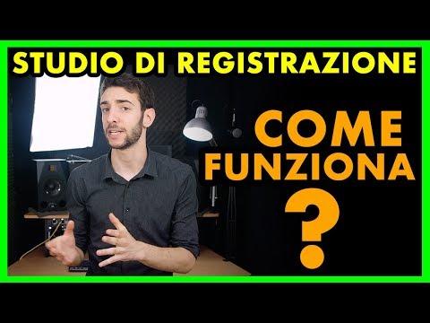 STUDIO DI REGISTRAZIONE - Come Funziona? (registrare una canzone)
