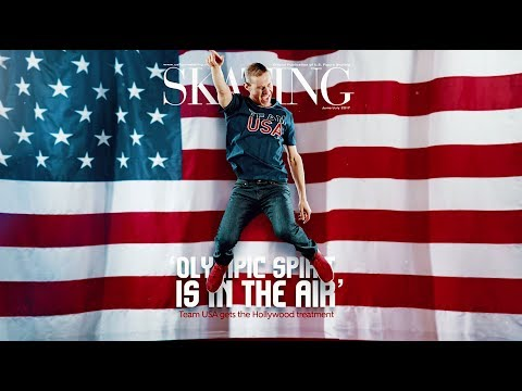 Team USA Gets the Hollywood Treatment | SKATING June/July 2017