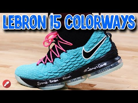 top-10-lebron-15-pe/-colorways!