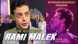 Bohemian Rhapsody Experience —  From the Red Carpet   Rami Malek & Brian May