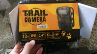 how to set up crenova rd1000 12mp 1080p low glow infrared trail camera review hunting game