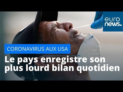 Coronavirus: plus lourd bilan quotidien aux Etats-Unis avec plus de 2 400 morts