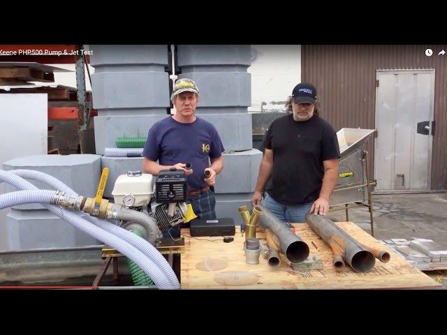 Keene PHP500 Pump & Jet Test