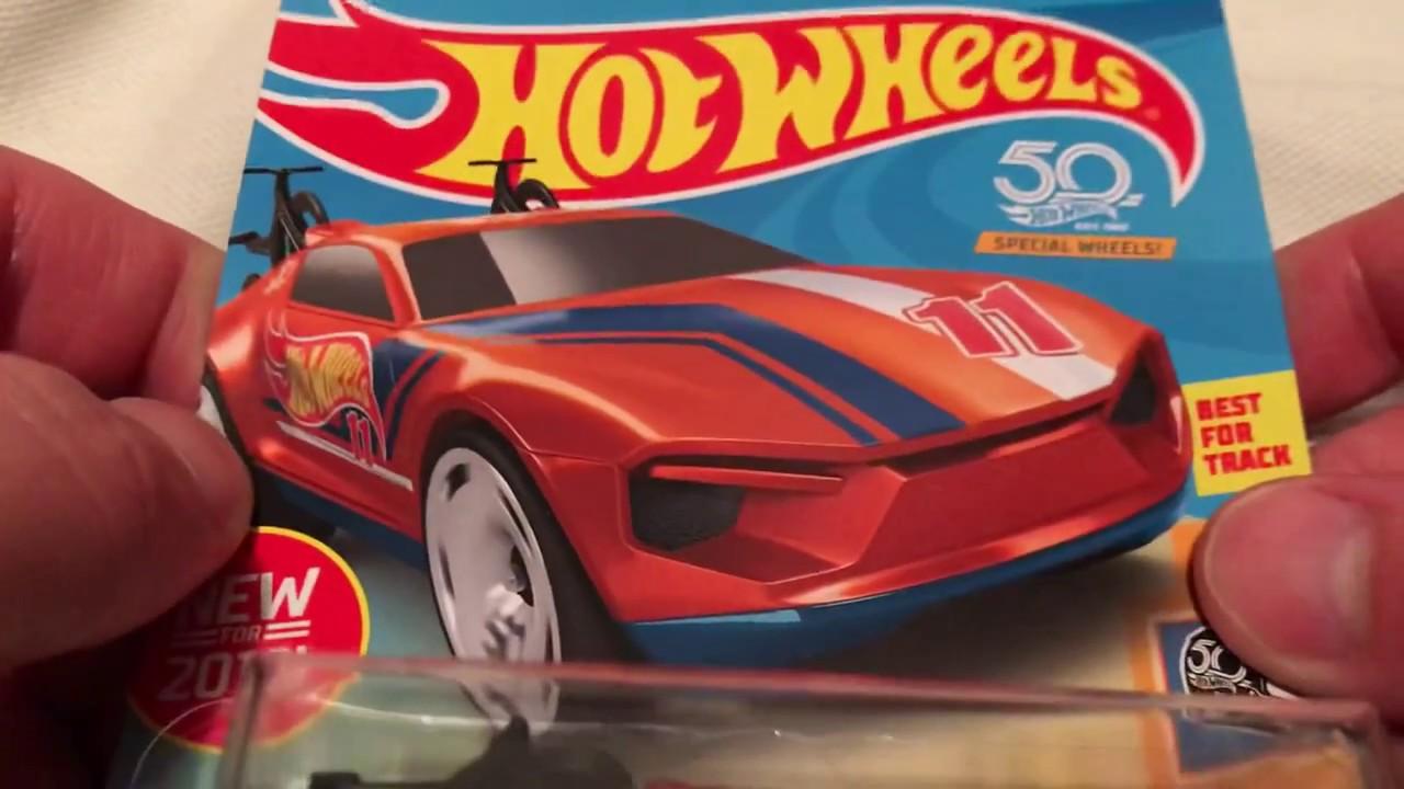 Hot Wheels Rise 'N Climb (New for 2018! - HW 50th Race Team | Orange Recolor)