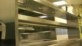 Main Kitchen counters by Rhine Kitchen Equipment LLC in a Five Star Hotel in Downtown Burj Dubai